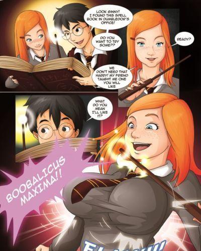 Harry potter interdit les sorts