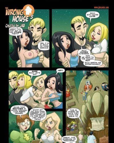 Jab Comix - The Wrong House 5