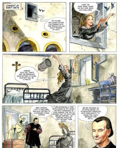 [Alejandro Jodorowsky & Milo Manara] Borgia #2 - The Power and The Incest [English] - part 2