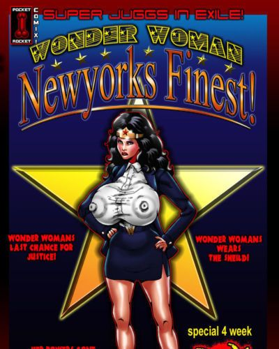 [Smudge] Super Juggs in Exile!: Wonder Woman - Newyorks Finest! (Wonder Woman)