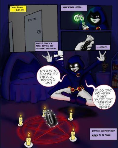[SlashySmiley] Raven Comic (Teen Titans) [Incomplete]