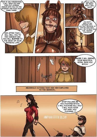 डर्बी 1 - रानी ponygirl transformatioch