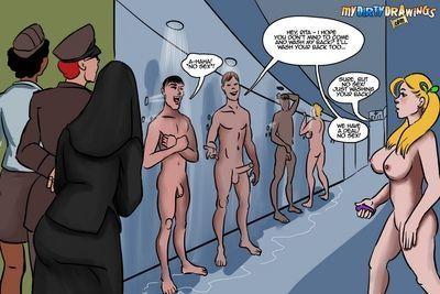 Orgy comics