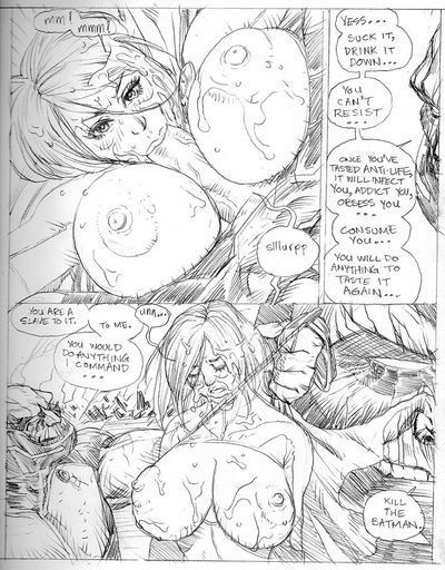 Whores Of Darkseid 2 - Power Girl Violatch - part 2