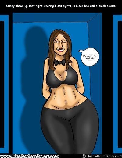 BBC Slut Kelsey 2 - The New Job