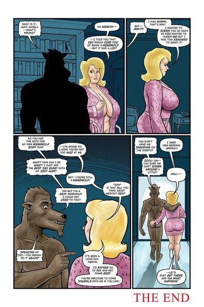 金发女郎 奇迹 - 默文 的 怪物 - 一部分 3