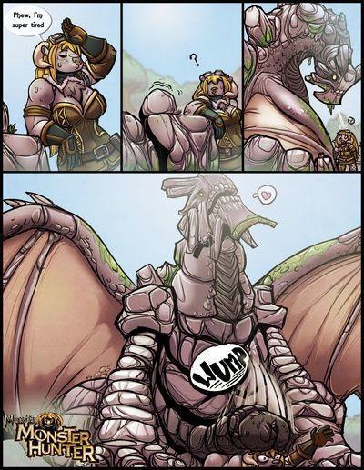 राक्षस राक्षस शिकारी
