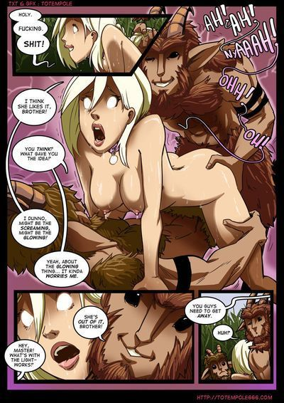 [Totempole] The Cummoner (Ongoing) - part 5