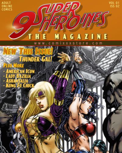 9 Superheroines - The Magazine #2