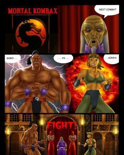 [Tentaculeo (Nihaotomita)] Mortal Kombax (Mortal Kombat)
