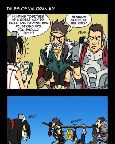 Tales of Valoran - How to Train your dragon - LOL comics (League if Legend) - part 2