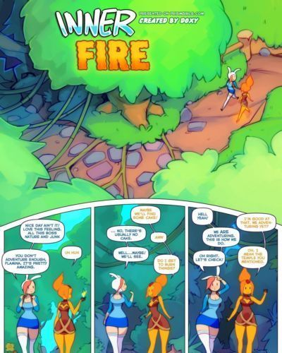 [Prism Girls (Doxy)] Inner Fire (Adventure Time) [English]