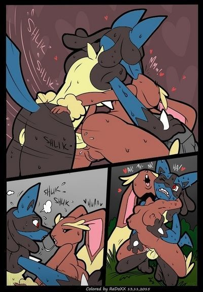 A Wild Lucario Appears - part 2