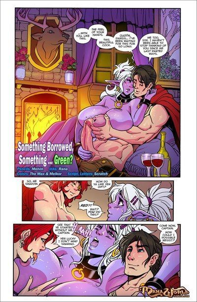 Something Borrowed, Something Green