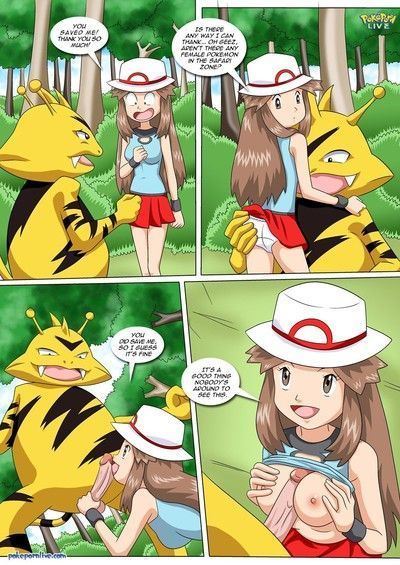 Pokemon- Leaf safari adventure,Pal Comix