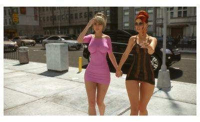 Anastasia & Eve Public Exxxposure