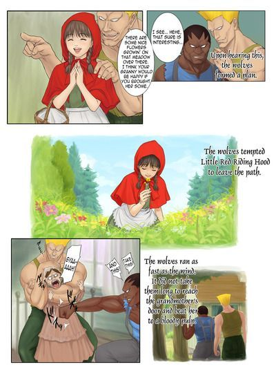 Little Red Riding Hood\\\