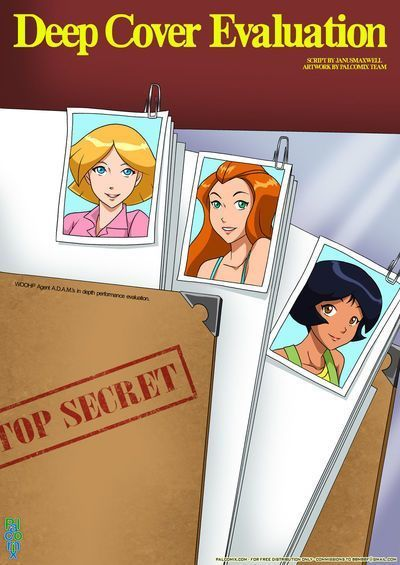 [Palcomix] Deep Cover Evaluation (Totally Spies)