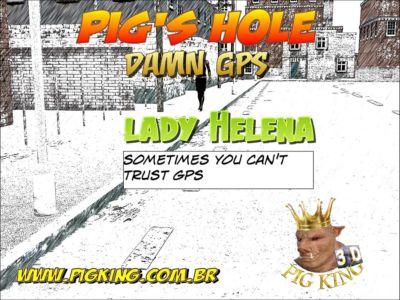 Pig's hole Damn GPS- Pig King
