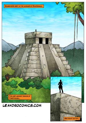 무덤 레이더 이 정글 의 과테말라