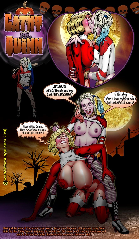 Harley Quinn Cosplay Strip