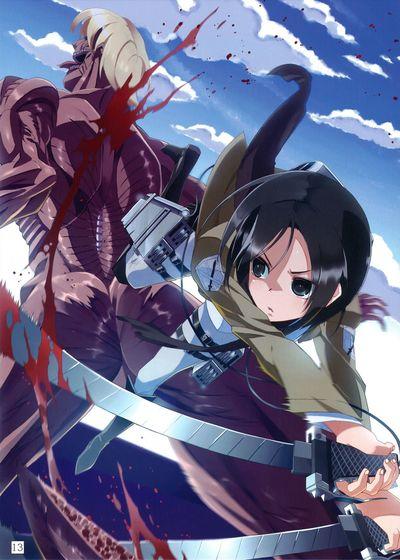 (C82) [PANDA-NIKU (Yakiniku ATK, J.C.Pandam)] SHINNGEKI vol. 2 (Shingeki no Kyojin)  [KirbyDances]