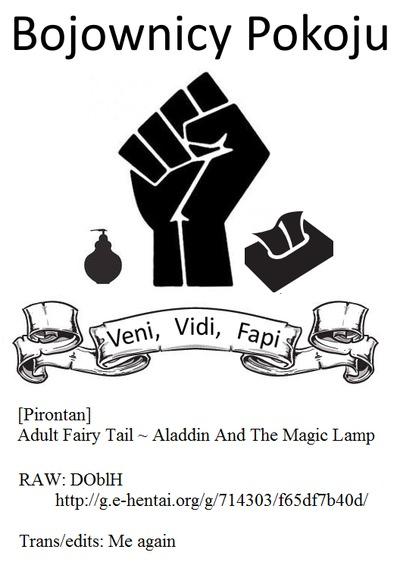 [Pirontan] Otona no Douwa ~Aladin to Mahou no Lamp - Adult Fairy Tale ~ Aladdin And The Magic Lamp  [Bojownicy Pokoju]..