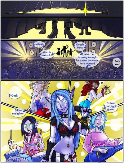 Mina And The Whoreagrams