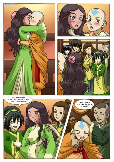 Avatar - The Last Jizzbender Book XXX 1