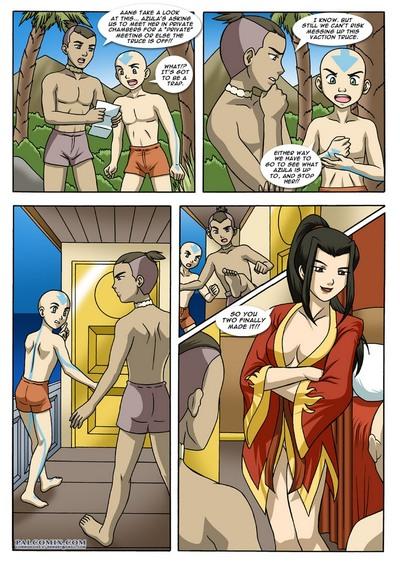 Порно комиксы с аватаром
