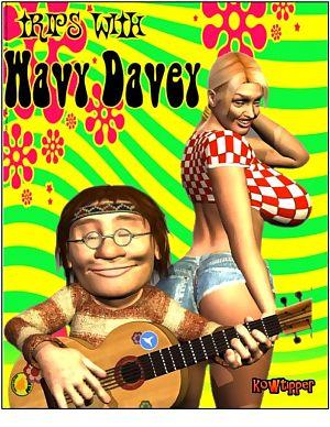 a tipper trips với dợn sóng Davey