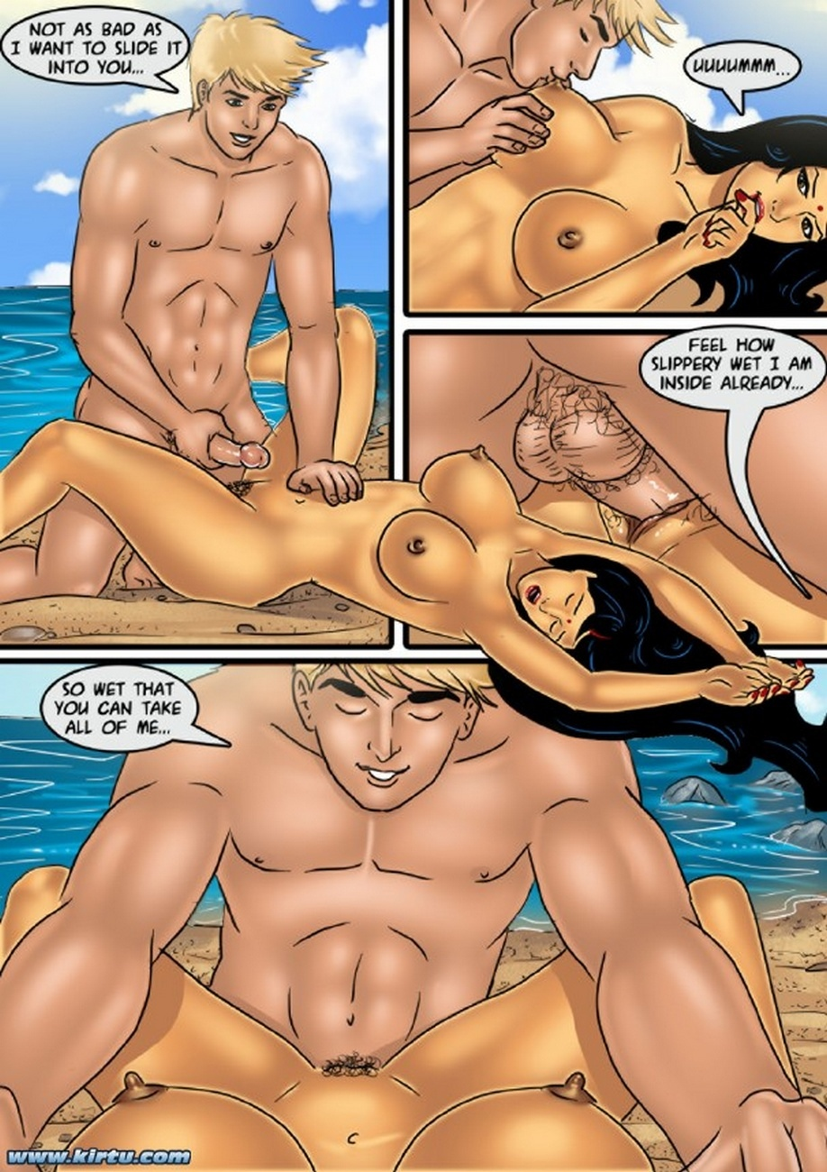 Savita Bhabhi 61 - Sex On The Beach - part 2