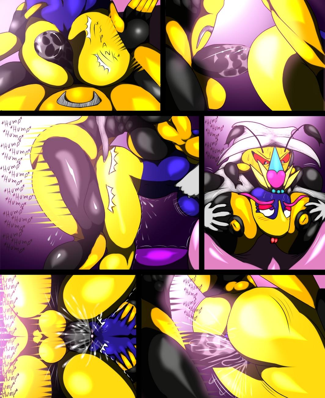 Wasp Queen VS Queen Sectonia