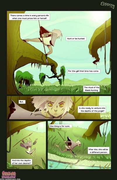 de el la serpiente y el Chica 1