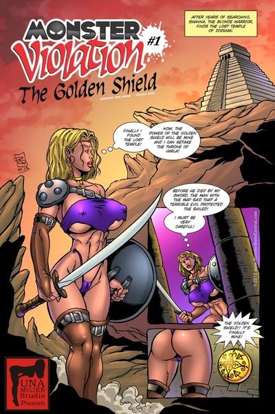 Monster Violation 1 - The Golden Shield