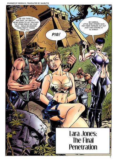 लारा जोन्स - के अंतिम चूत में घुसेड़ना