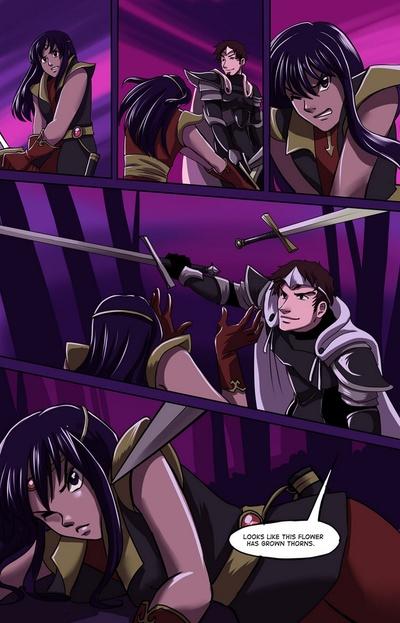 Thorn Prince 4 - les ennemis plus près