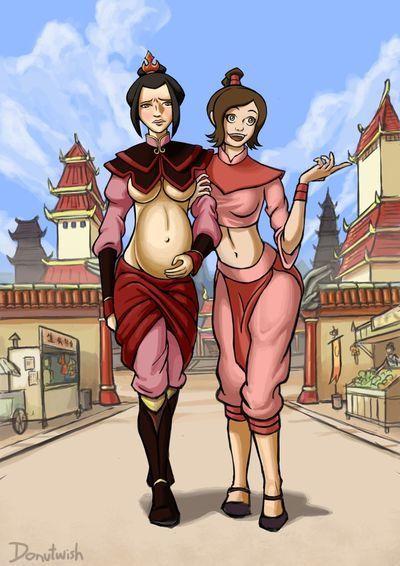 Ty Lee and Azula\