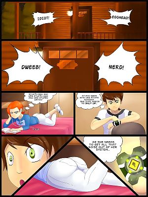 Ben 10- Gwen vs Fourarms