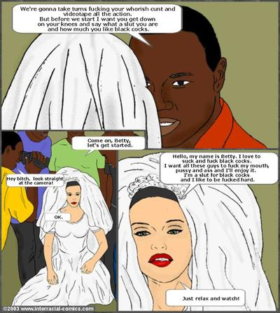 Her Wedding Day- Interracial