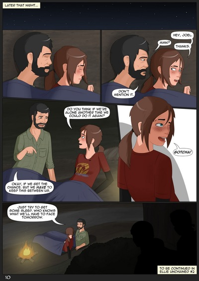 Ellie Unchained 1-Last of US