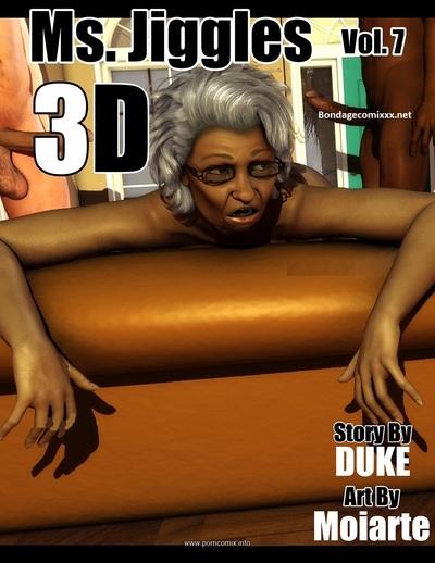 Ms Jiggles 3D - Vol 7- Duke Honey