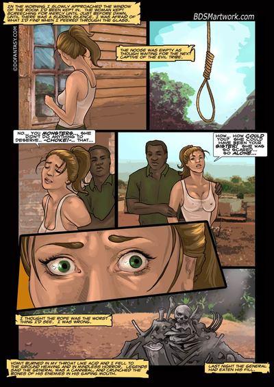 सफेद मांस 03- बंधक परपीड़न सेक्स कलाकृति