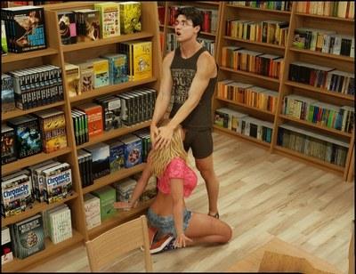 blackadder die Bibliothek
