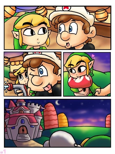 First Kiss (Legend of Zelda,Super Mario Bros)
