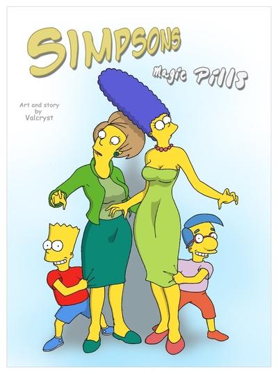 Magic Pills- The Simpsons