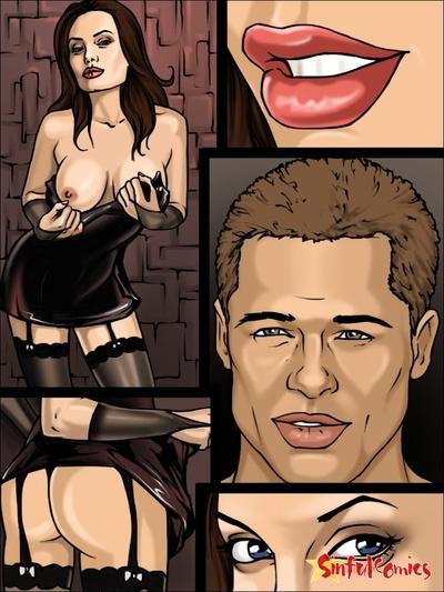 Angelina Jolie Brad Arkasında kapalı kapılar