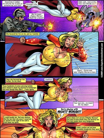 Superheroine Central- Mighty cow