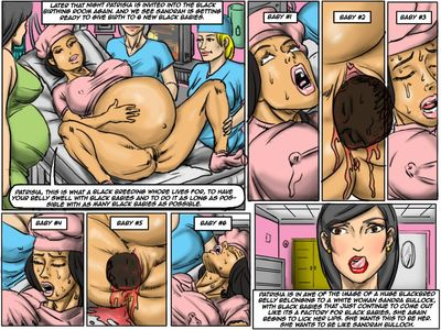 Black Breeding Network 3- illustrated interracial