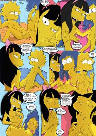 Simpsons- Simpcest 2 «Lolisa»